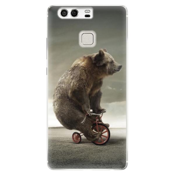 Silikonové pouzdro iSaprio - Bear 01 - Huawei P9