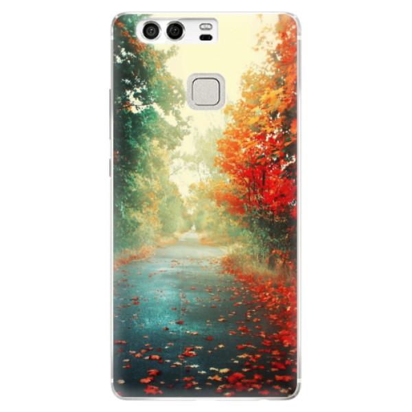 Silikonové pouzdro iSaprio - Autumn 03 - Huawei P9