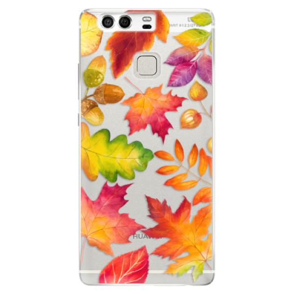 Silikonové pouzdro iSaprio - Autumn Leaves 01 - Huawei P9