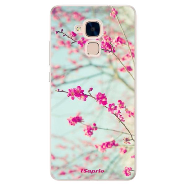 Silikonové pouzdro iSaprio - Blossom 01 - Huawei Honor 7 Lite