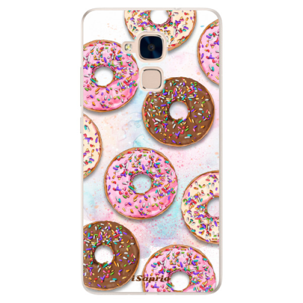 Silikonové pouzdro iSaprio - Donuts 11 - Huawei Honor 7 Lite