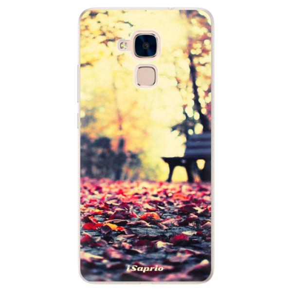 Silikonové pouzdro iSaprio - Bench 01 - Huawei Honor 7 Lite