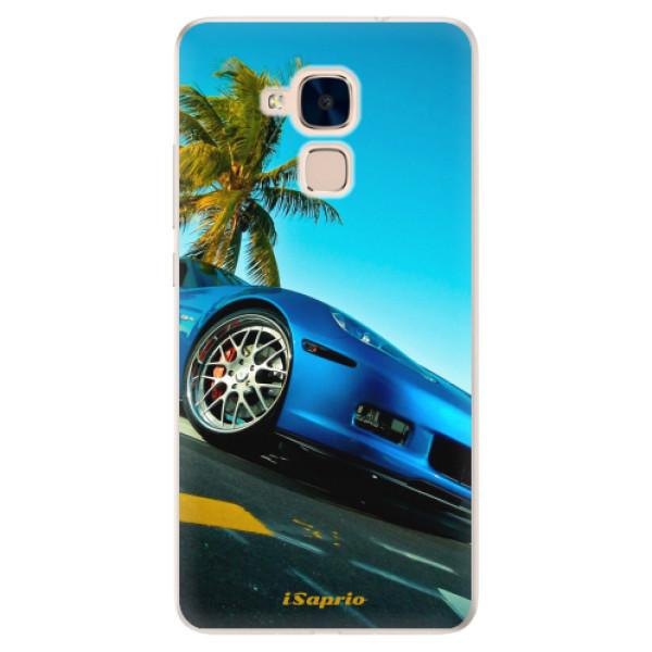 Silikonové pouzdro iSaprio - Car 10 - Huawei Honor 7 Lite