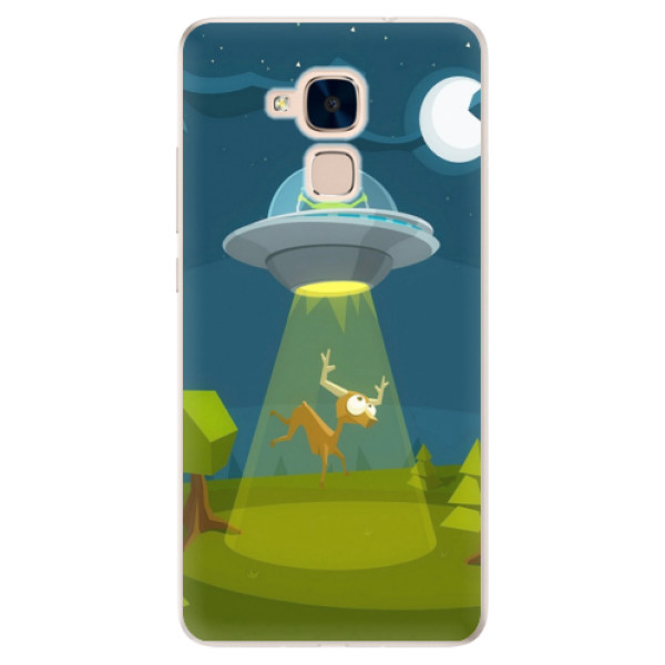 Silikonové pouzdro iSaprio - Alien 01 - Huawei Honor 7 Lite