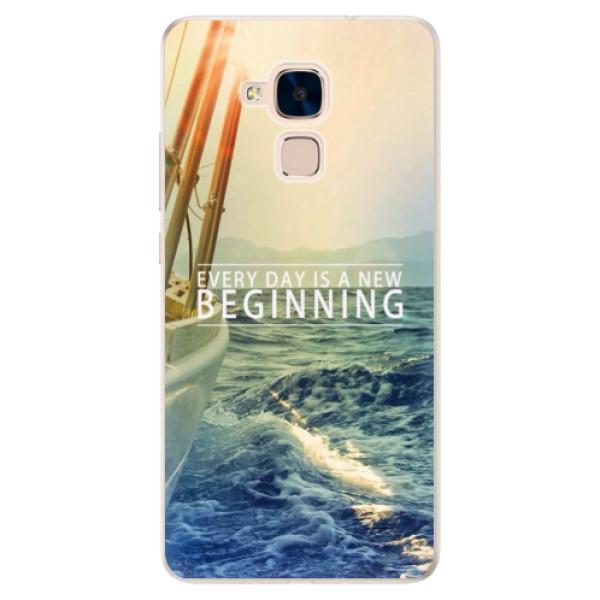 Silikonové pouzdro iSaprio - Beginning - Huawei Honor 7 Lite