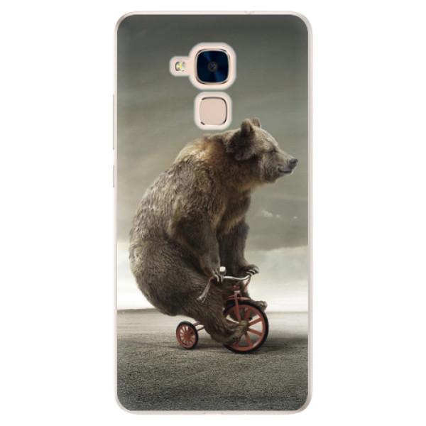 Silikonové pouzdro iSaprio - Bear 01 - Huawei Honor 7 Lite