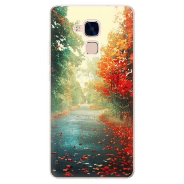 Silikonové pouzdro iSaprio - Autumn 03 - Huawei Honor 7 Lite