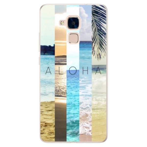 Silikonové pouzdro iSaprio - Aloha 02 - Huawei Honor 7 Lite