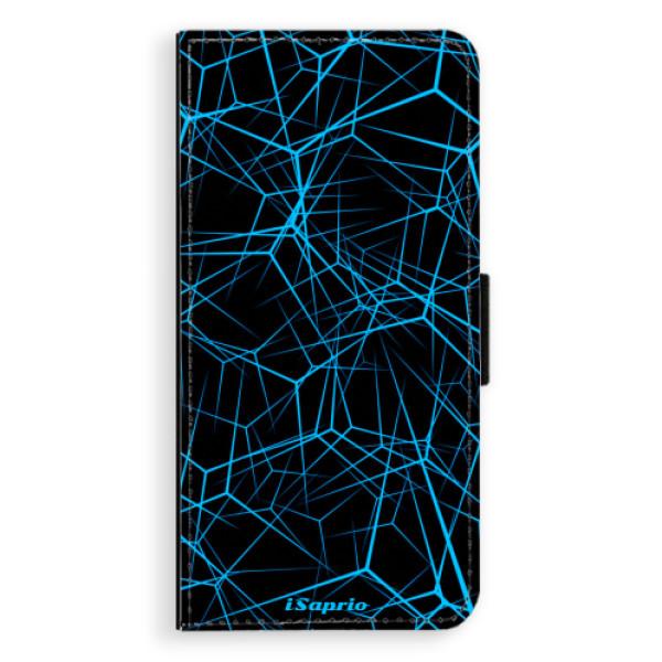 Flipové pouzdro iSaprio - Abstract Outlines 12 - Samsung Galaxy J6