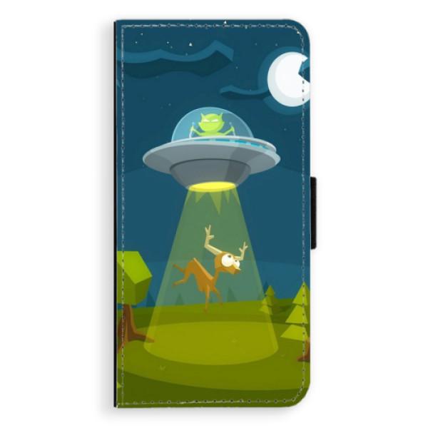 Flipové pouzdro iSaprio - Alien 01 - Samsung Galaxy J6