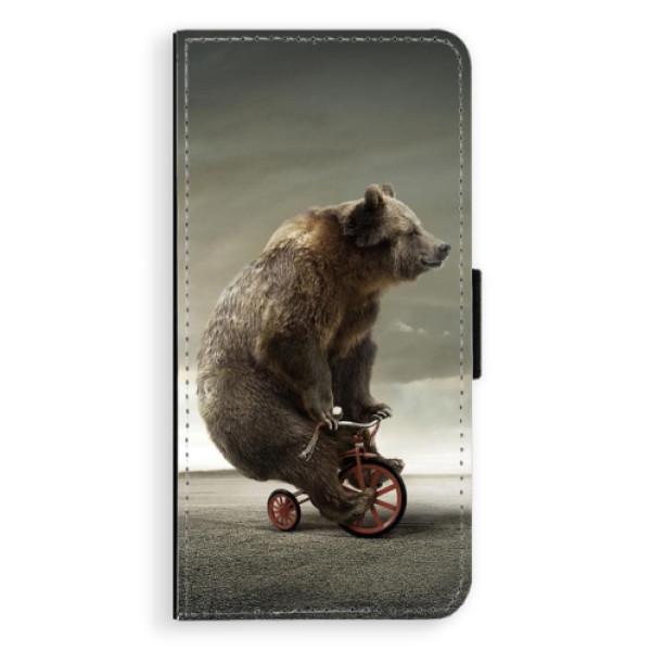Flipové pouzdro iSaprio - Bear 01 - Samsung Galaxy J6