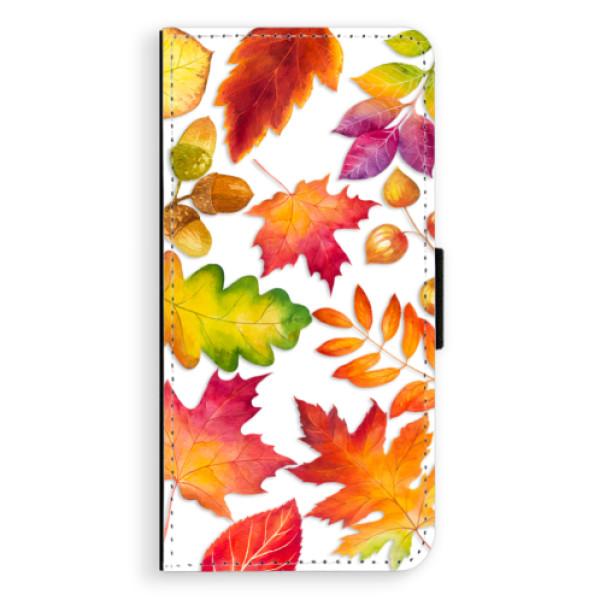 Flipové pouzdro iSaprio - Autumn Leaves 01 - Samsung Galaxy J6