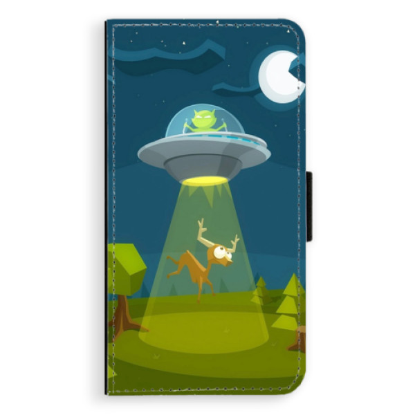 Flipové pouzdro iSaprio - Alien 01 - iPhone XR