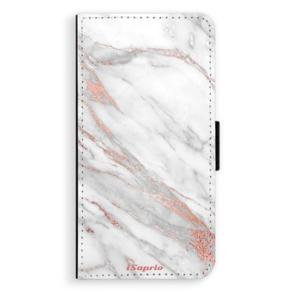 Flipové pouzdro iSaprio - RoseGold 11 - iPhone XS Max