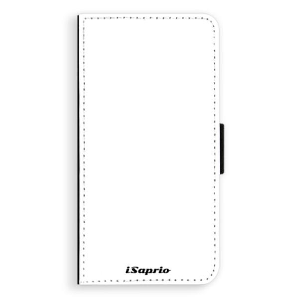 Flipové pouzdro iSaprio - 4Pure - bílý - iPhone XS Max