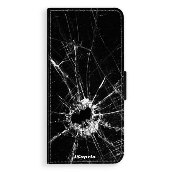 Flipové pouzdro iSaprio - Broken Glass 10 - Huawei Nova 3i