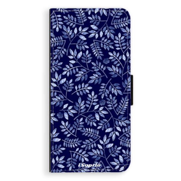 Flipové pouzdro iSaprio - Blue Leaves 05 - Huawei Nova 3i