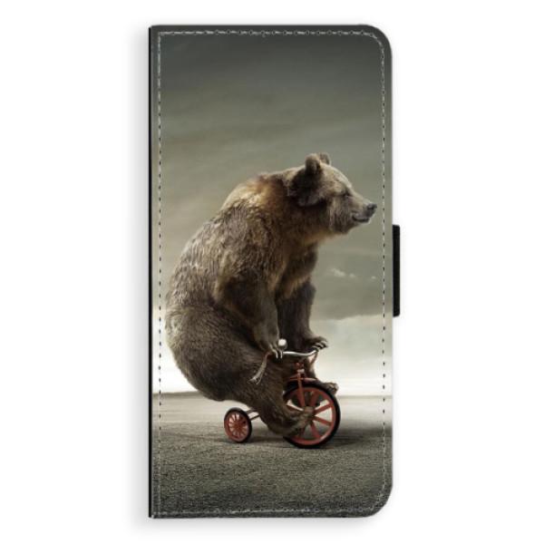 Flipové pouzdro iSaprio - Bear 01 - Huawei Nova 3i