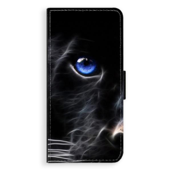 Flipové pouzdro iSaprio - Black Puma - Huawei Nova 3i