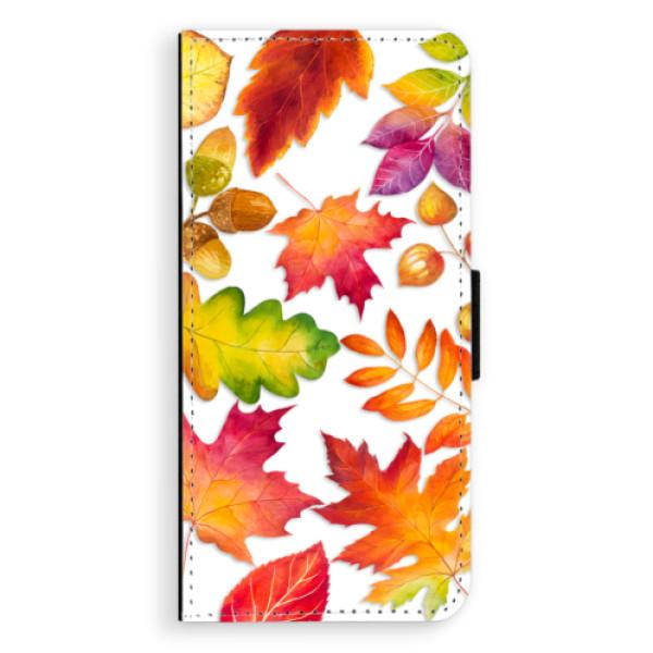 Flipové pouzdro iSaprio - Autumn Leaves 01 - Huawei Nova 3i