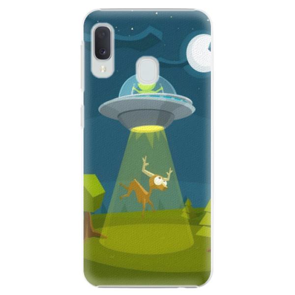 Plastové pouzdro iSaprio - Alien 01 - Samsung Galaxy A20e