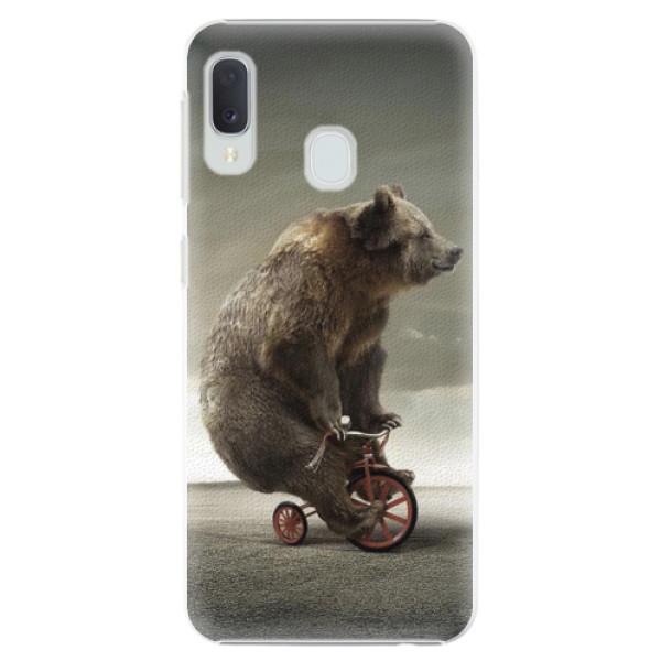 Plastové pouzdro iSaprio - Bear 01 - Samsung Galaxy A20e