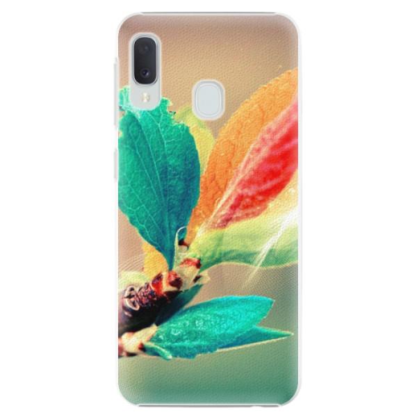 Plastové pouzdro iSaprio - Autumn 02 - Samsung Galaxy A20e