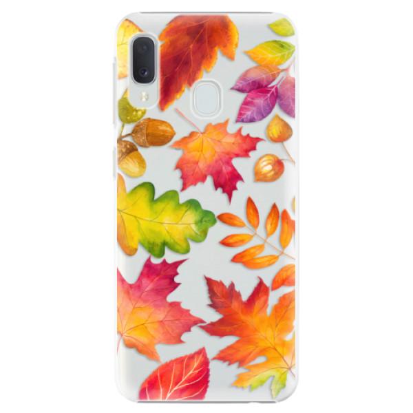 Plastové pouzdro iSaprio - Autumn Leaves 01 - Samsung Galaxy A20e