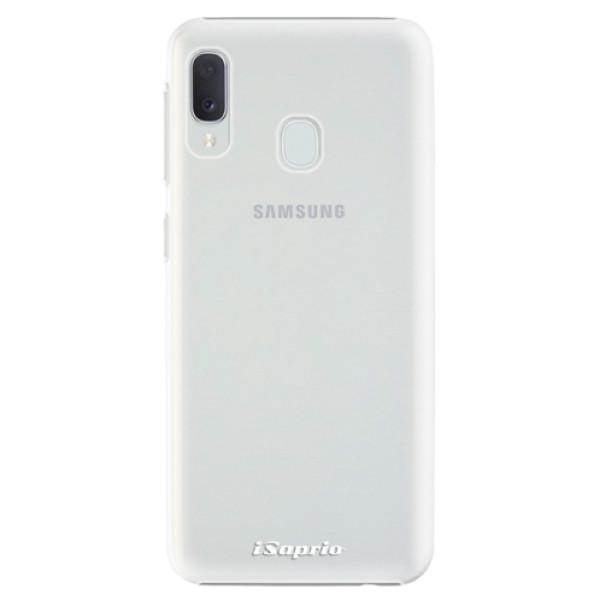 Plastové pouzdro iSaprio - 4Pure - mléčný bez potisku - Samsung Galaxy A20e