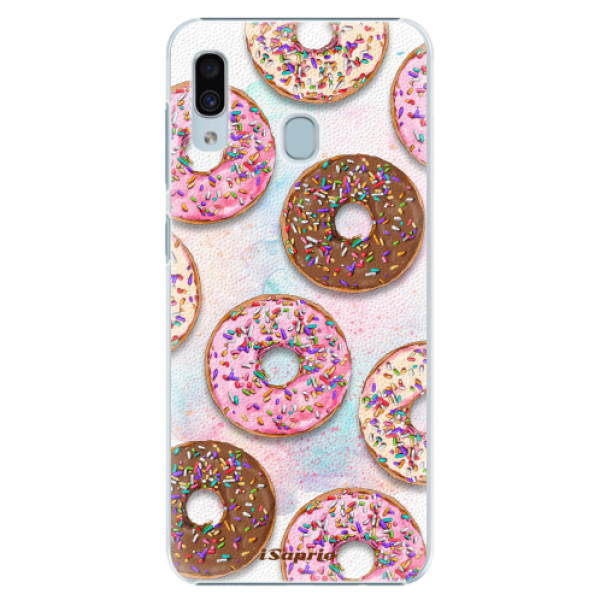 Plastové pouzdro iSaprio - Donuts 11 - Samsung Galaxy A30