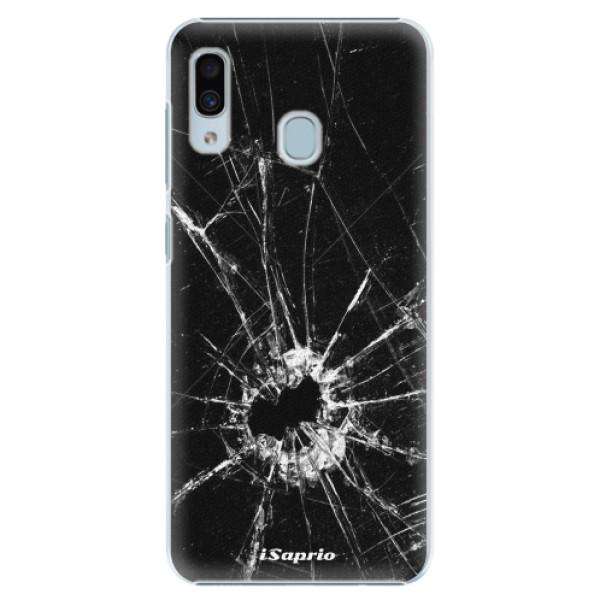 Plastové pouzdro iSaprio - Broken Glass 10 - Samsung Galaxy A30