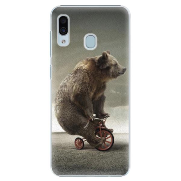 Plastové pouzdro iSaprio - Bear 01 - Samsung Galaxy A30