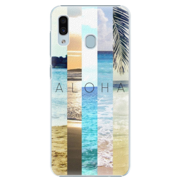Plastové pouzdro iSaprio - Aloha 02 - Samsung Galaxy A30