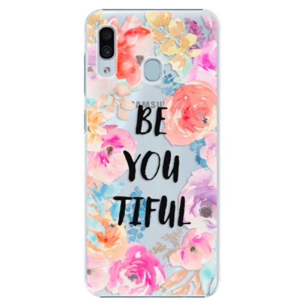 Plastové pouzdro iSaprio - BeYouTiful - Samsung Galaxy A30