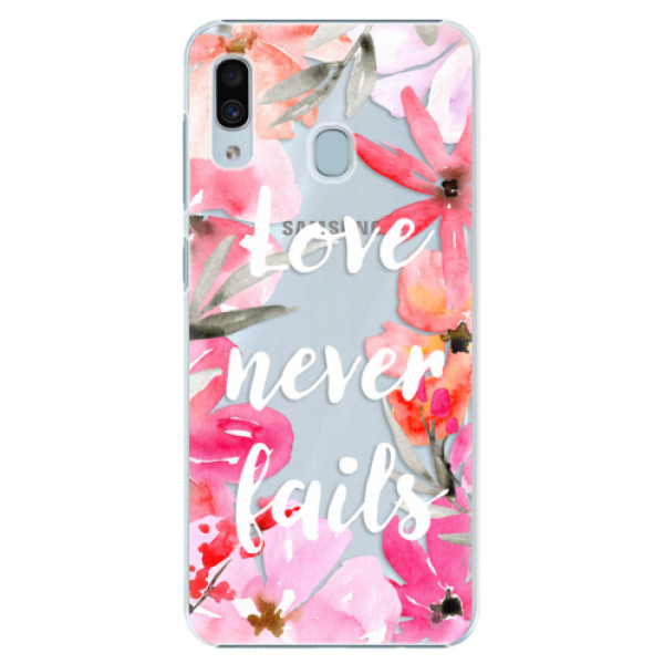 Levně Plastové pouzdro iSaprio - Love Never Fails - Samsung Galaxy A30