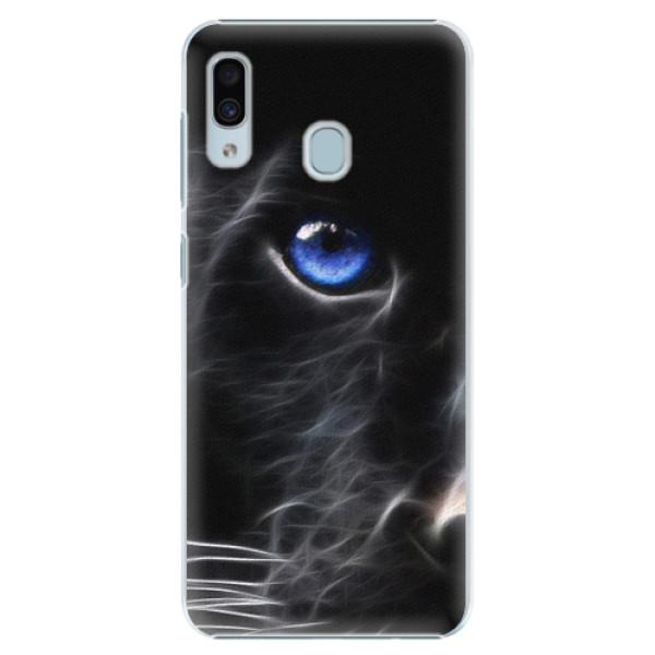 Plastové pouzdro iSaprio - Black Puma - Samsung Galaxy A30