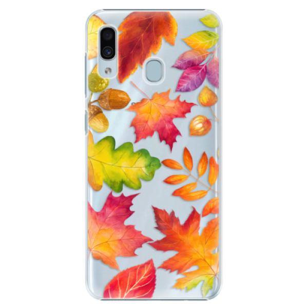 Plastové pouzdro iSaprio - Autumn Leaves 01 - Samsung Galaxy A30