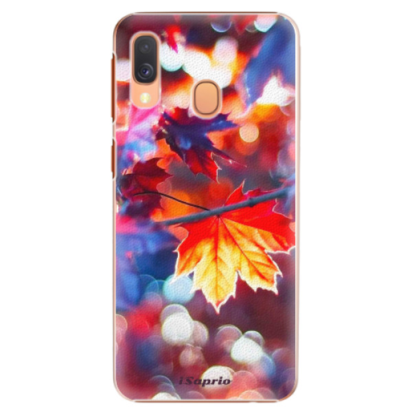 Plastové pouzdro iSaprio - Autumn Leaves 02 - Samsung Galaxy A40