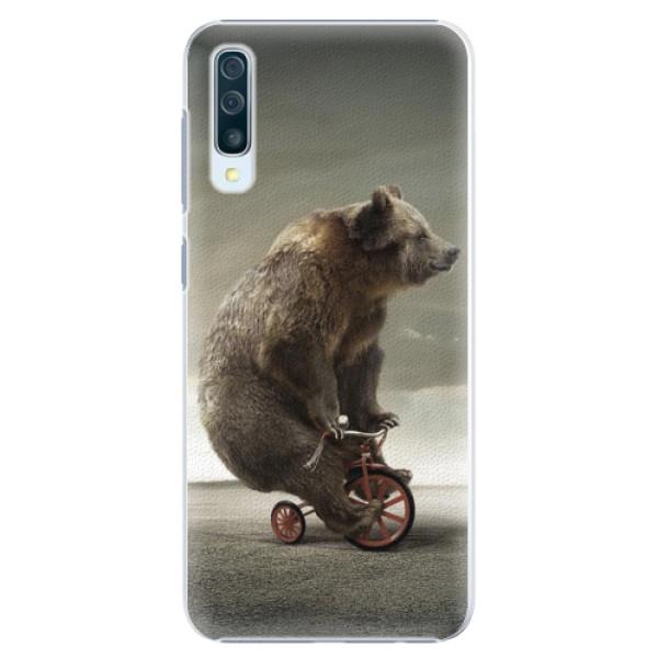 Plastové pouzdro iSaprio - Bear 01 - Samsung Galaxy A50