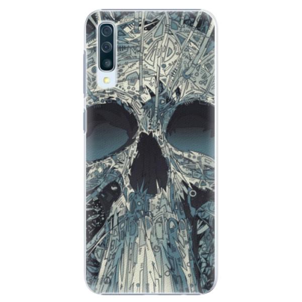 Plastové pouzdro iSaprio - Abstract Skull - Samsung Galaxy A50