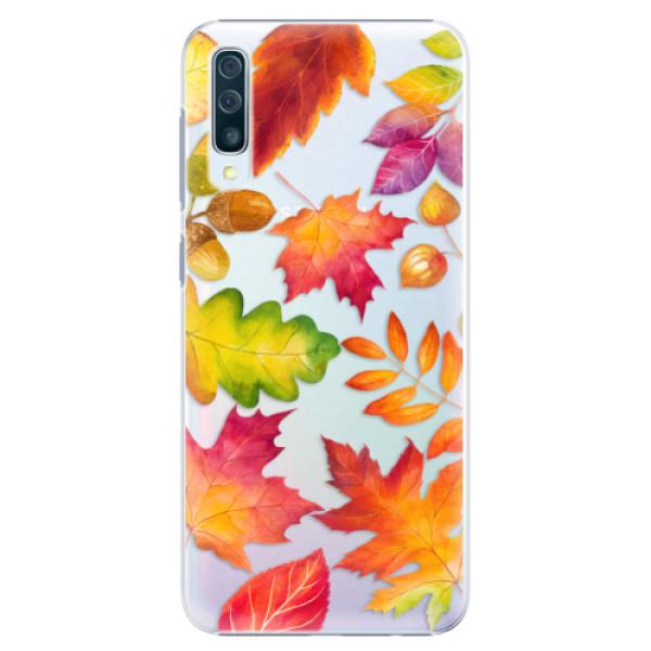 Plastové pouzdro iSaprio - Autumn Leaves 01 - Samsung Galaxy A50