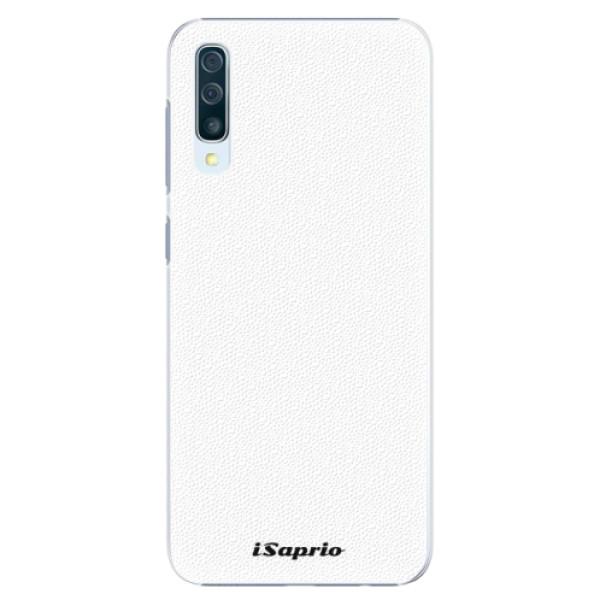 Plastové pouzdro iSaprio - 4Pure - bílý - Samsung Galaxy A50