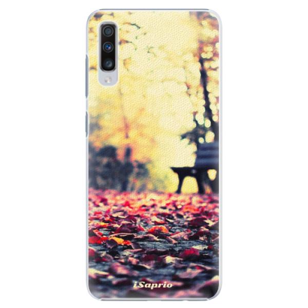 Plastové pouzdro iSaprio - Bench 01 - Samsung Galaxy A70