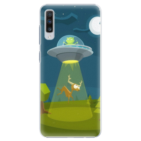 Plastové pouzdro iSaprio - Alien 01 - Samsung Galaxy A70