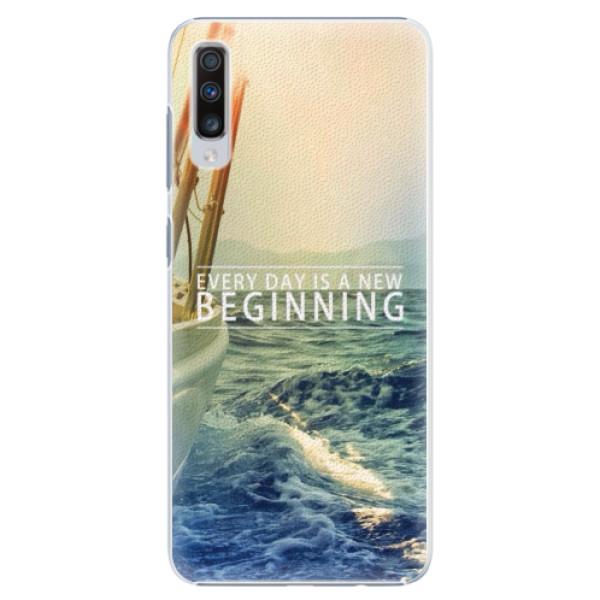 Plastové pouzdro iSaprio - Beginning - Samsung Galaxy A70