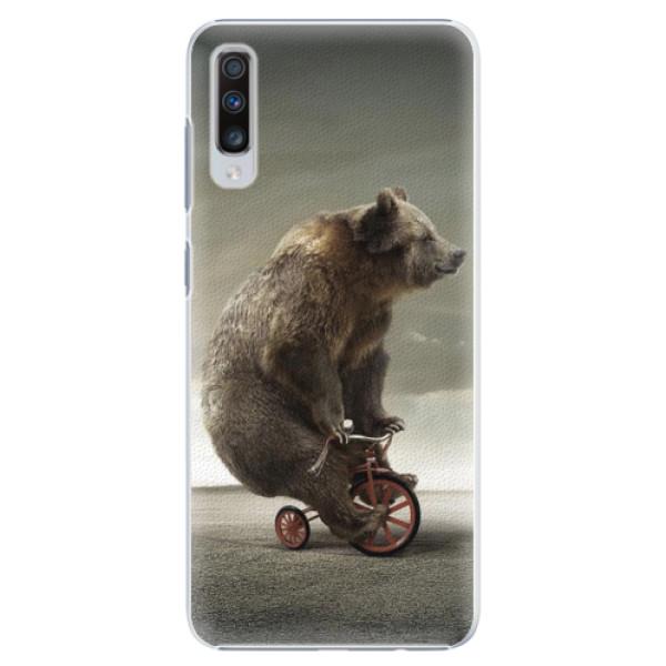 Plastové pouzdro iSaprio - Bear 01 - Samsung Galaxy A70