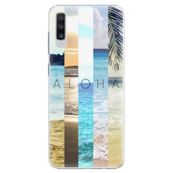 Plastové pouzdro iSaprio - Aloha 02 - Samsung Galaxy A70