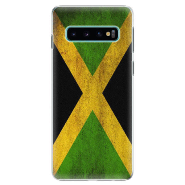 Plastové pouzdro iSaprio - Flag of Jamaica - Samsung Galaxy S10