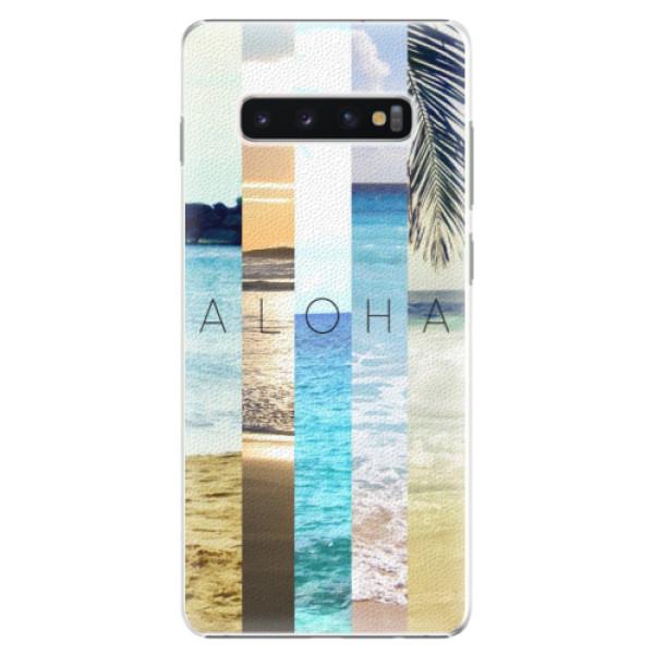 Plastové pouzdro iSaprio - Aloha 02 - Samsung Galaxy S10+