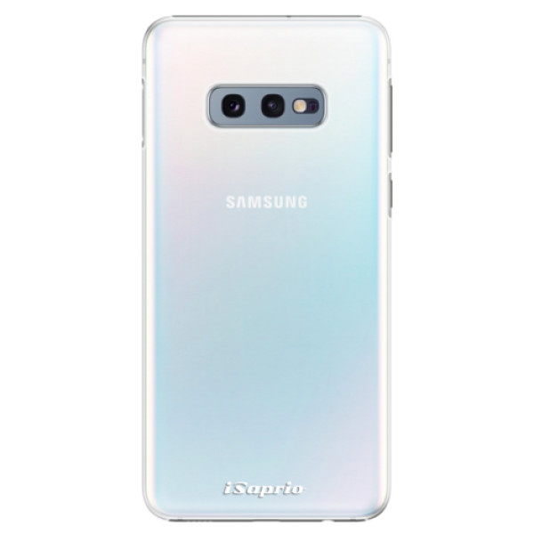 Plastové pouzdro iSaprio - 4Pure - mléčný bez potisku - Samsung Galaxy S10e